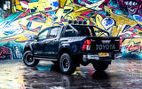 Toyota Hilux Invincible 50 2019 first drive review - static rear