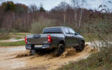 Toyota Hilux Invincible X 2020 UK first drive review - wading rear
