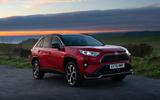19 Toyota RAV4 PHEV 2021 UK first drive review static