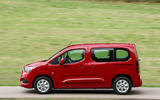 Vauxhall Combo Life 2018 UK first drive review on the road left