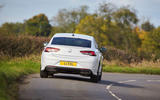 19 Vauxhall Insignia SRI VX line 2021 UK FD on road rear