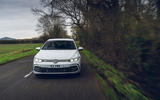 19 Volkswagen Golf GTD 2021 UK first drive review on road nose