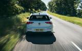 19 Volkswagen Golf GTI Clubsport 45 2021 UK FD on road rear
