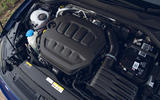 19 Volkswagen Golf R 2021 UK first drive review engine