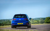Volkswagen Golf R Performance Pack 2018 review cornering rear