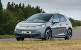Volkswagen ID 3 2020 UK first drive review - cornering front