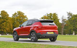 Volvo XC40 2018 long-term review - on the road rear