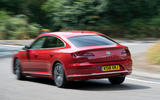 Volkswagen Arteon 2018 long-term review cornering rear