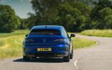19 VW arteon R Shooting Brake 2021 UK FD on road rear