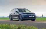 19 VW Golf Estate 2021 UK FD static