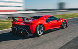 Ferrari P80/C 2019 reveal official pictures - track driving rear