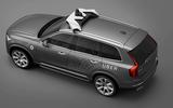Self-driving Volvo XC90