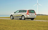 Volvo V70 plug-in hybrid demonstration vehicle