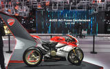 Ducati display at the Paris motor show 2016 - show report and gallery