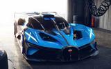 Bugatti Bolide front close garage