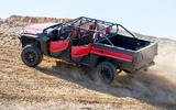 Honda Rugged Open Air Vehicle concept being driven off-road