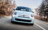 Fiat 500 Hybrid 2020 first drive review - on the road nose