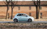 Fiat 500 Hybrid 2020 first drive review - on the road side