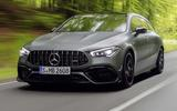 Mercedes-AMG CLA 45 S Shooting Brake - driving