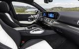 Mercedes-Benz GLE Coupé static - front seats