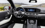 Mercedes-Benz GLE Coupé static - interior