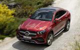 Mercedes-Benz GLE Coupé dynamic - front