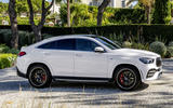 Mercedes-AMG GLE 53 Coupé static - side