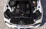 Mercedes-AMG GLE 53 Coupé static - engine