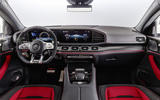 Mercedes-AMG GLE 53 Coupé static - dashboard