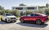 Mercedes-Benz GLE Coupé static - pair
