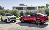 Mercedes-Benz GLE Coupé static - pair