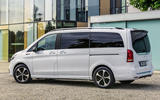 2020 Mercedes-Benz EQV revealed - side