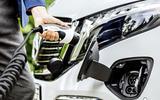 2020 Mercedes-Benz EQV revealed - charging port