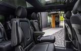 2020 Mercedes-Benz EQV revealed - rear seats