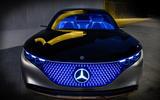 2019 Mercedes-Benz Vision EQS concept reveal