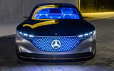 2019 Mercedes-Benz Vision EQS concept reveal