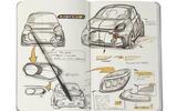 2020 Smart Fortwo EQ design sketch