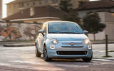 Fiat 500 Hybrid 2020 first drive review - on the road