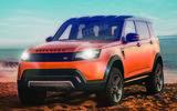 Next-generation Land Rover Defender
