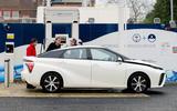 Toyota Mirai charging