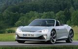 Audi electric TT render 2020 - stationary front