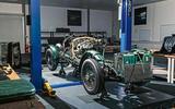 Bentley Blower continuation - bare bones