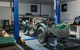 Bentley Blower continuation digitising process