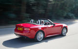 Fiat 124 Spider - tracking rear