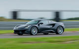 1 Lotus Emira on Hethel test track
