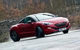 Peugeot RCZ R 2014 - tracking side