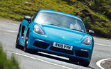 Porsche Cayman T 2019 - tracking front