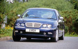 Rover 75 - tracking front
