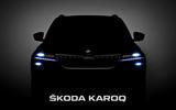Skoda Karoq prototype driven