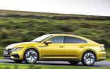 Volkswagen Arteon R 2017 - tracking side